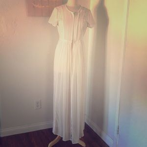 Sheer and lace shell by LC Lauren Conrad. Size 14
